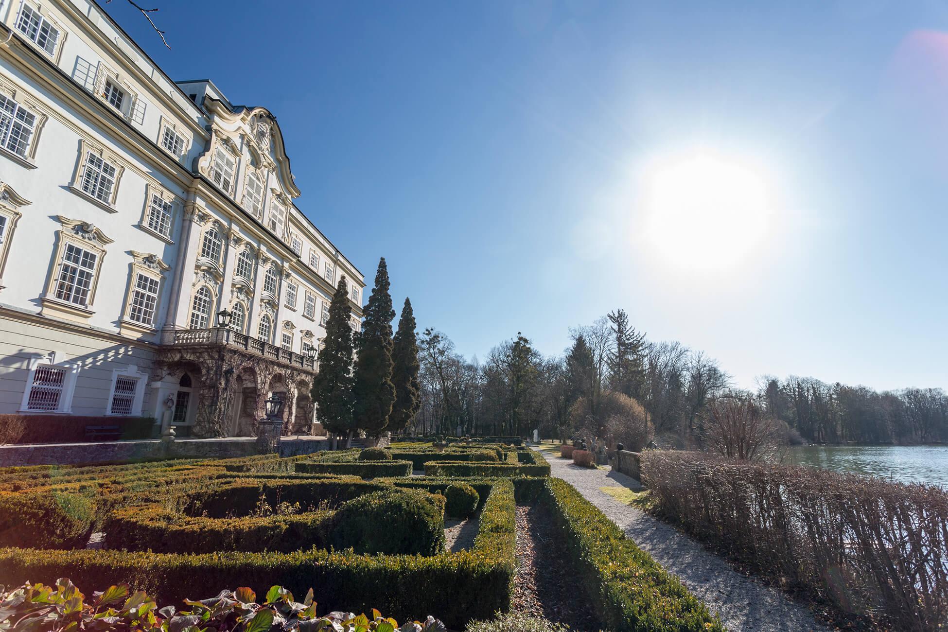 Schloss Leopoldskron außen