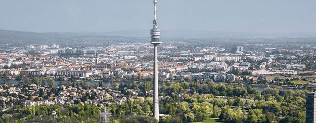 Donauturm Außenaufnahme