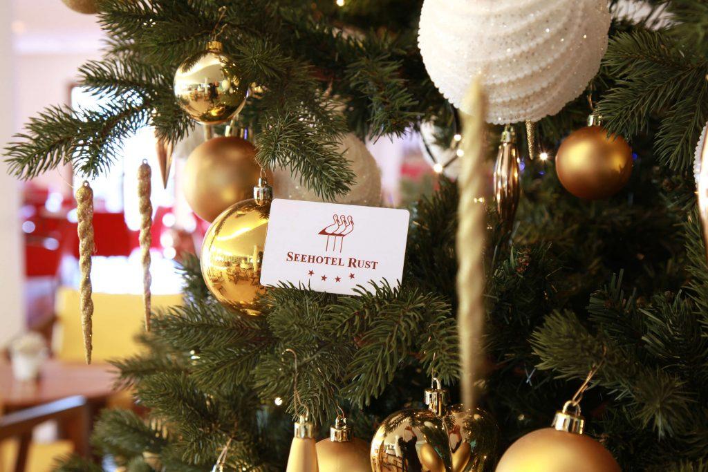 Seehotel Rust - Weihnachtsbaum