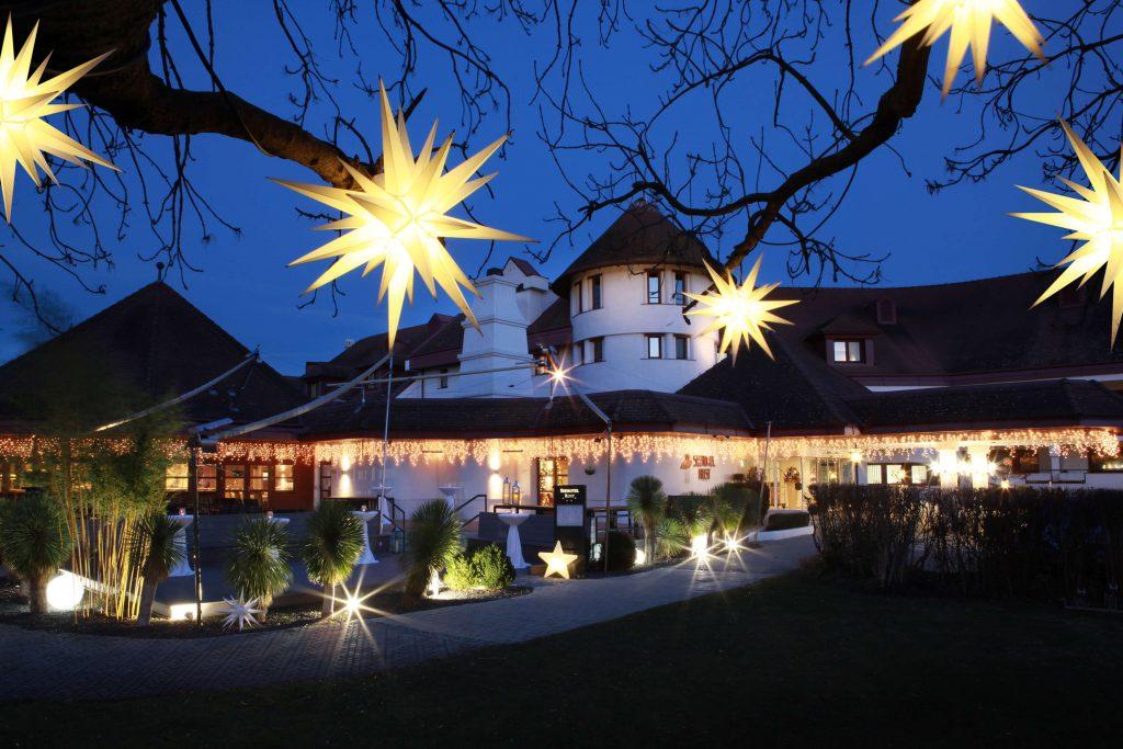 Seehotel Rust Weihnachtsdeko